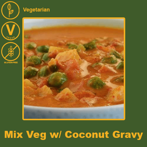 Mixed Vegetables with Coconut Gravy